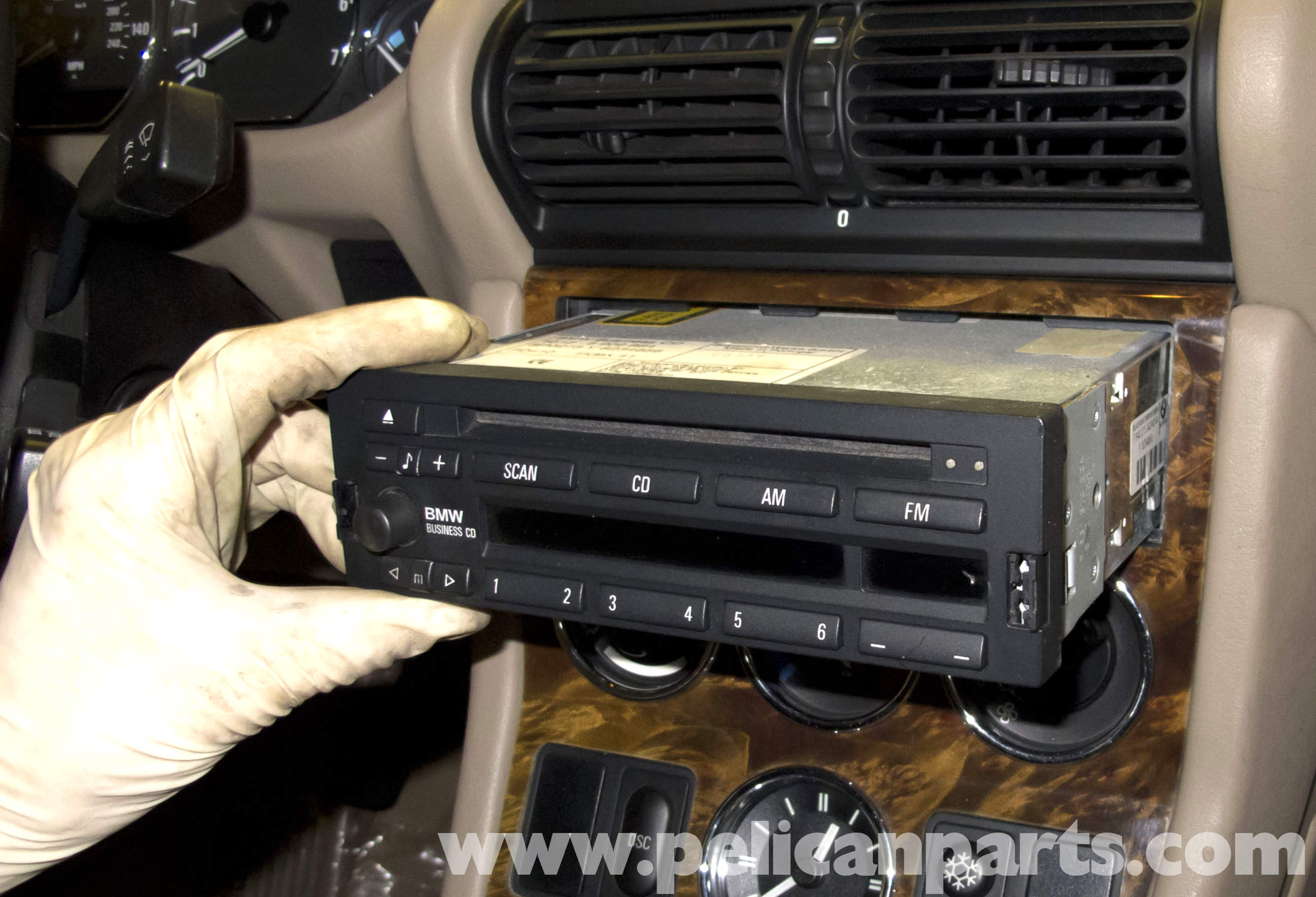 Bmw Z3 Radio Removal And Replacement 1996 2002 Pelican Parts Diy Stereo Wiring Large Image Extra