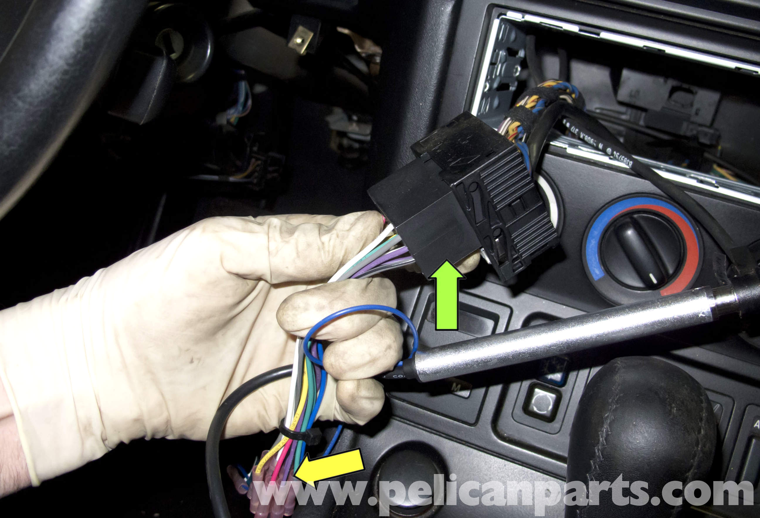 Bmw Z3 Radio Removal And Replacement 1996 2002 Pelican Parts Diy Wiring Diagram Head Unit Install Kenwood Car Stereo Large Image Extra