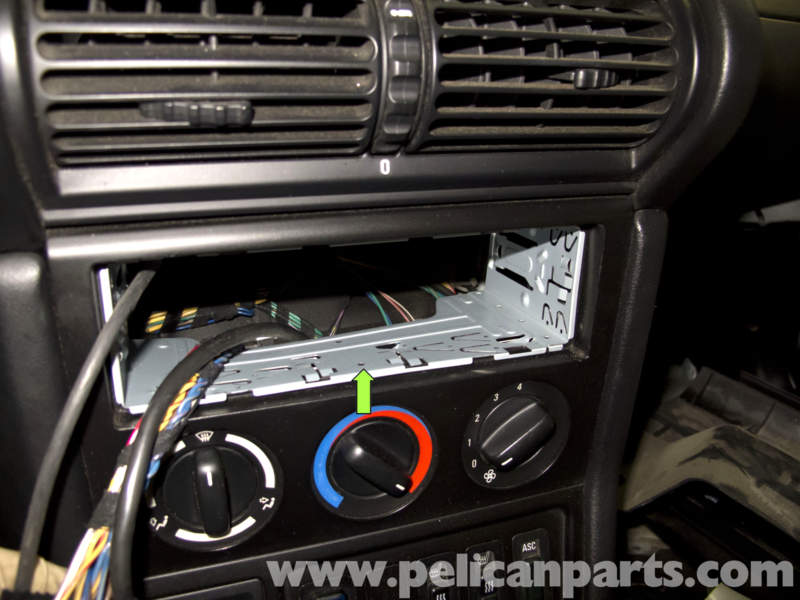 bmw z3 radio removal and replacement 1996 2002 pelican parts diy rh pelicanparts com