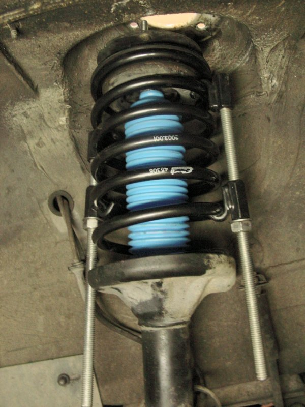 BMW E30 3-Series Front Shock and Spring Replacement (1983 ...