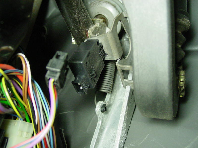 bmw e30  e36 brake pedal switch replacement