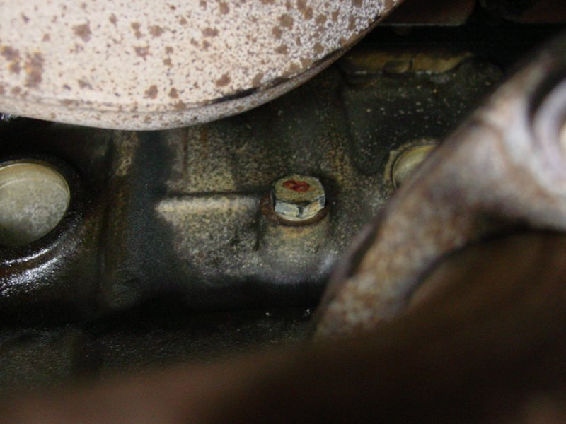 Any easy fix for stripped drain plug hole/oilpan? - Off-Road