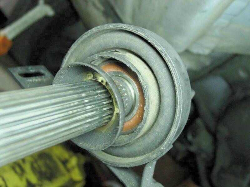BMW E36 3-Series Driveshaft Bearing Replacement (1992 - 1999