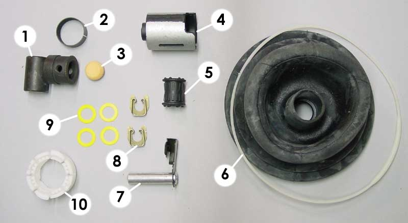 Pelican Parts Shift Bushing Kit Correct For M3 S