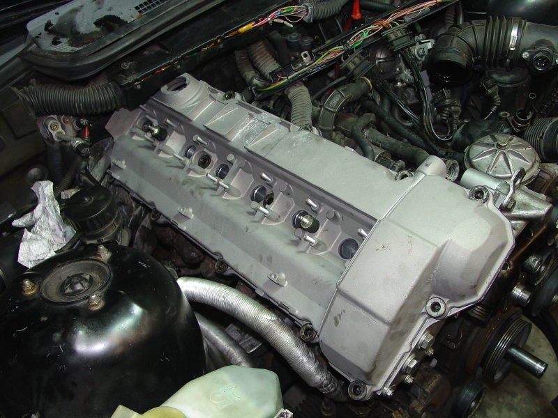 bmw e30  e36 valve cover replacement