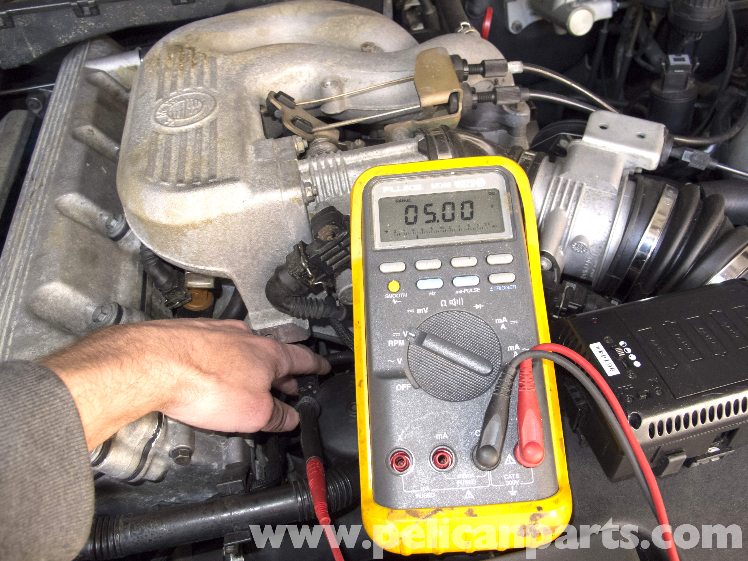 Bmw Z3 Coolant Temperature Sensor Testing And Replacement
