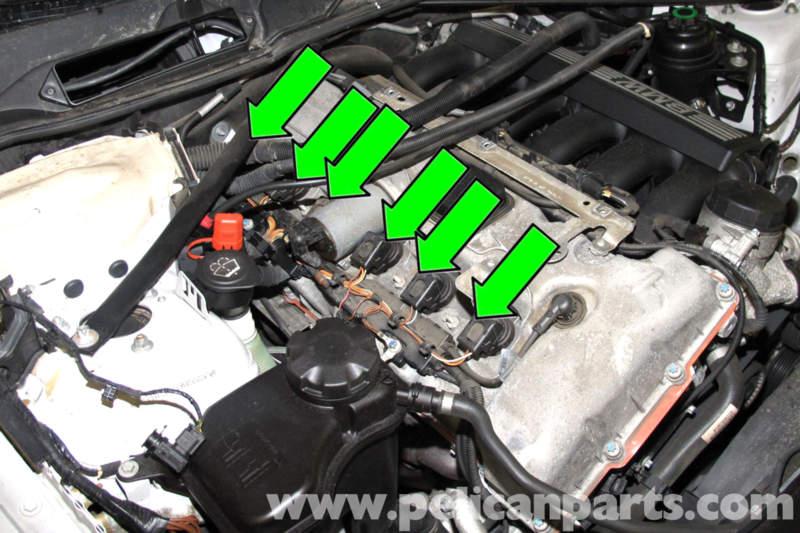 e90 ignition coil wiring diagram bmw e90 spark plug and coil replacement | e91, e92, e93 ...