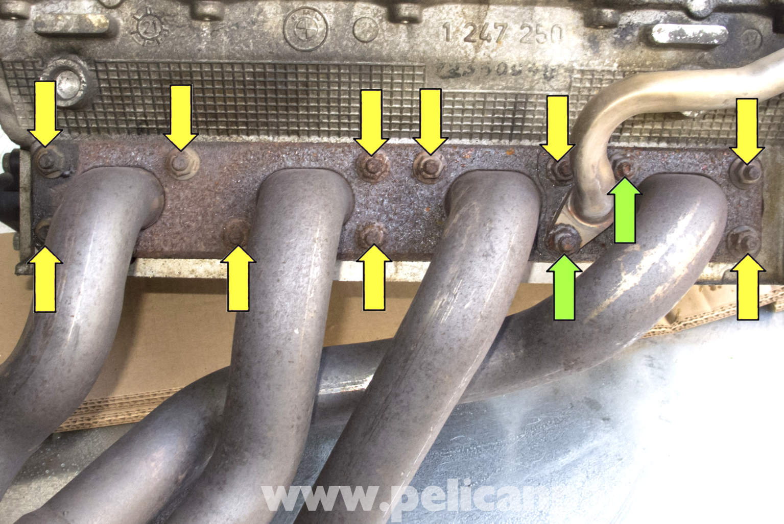 BMW Z3 Exhaust Manifold Removal And Replacement