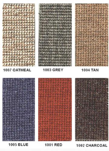 Pelican Parts Restoration Materials Squareweave Carpet