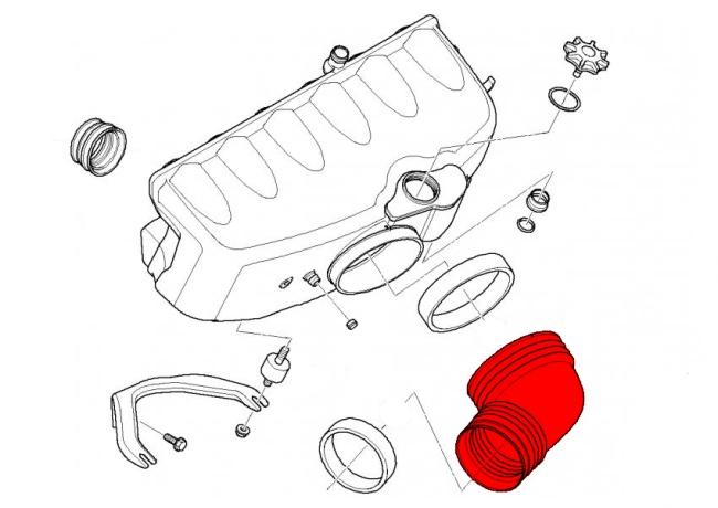 2006 bmw 330xi engine radiator