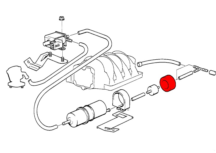volkswagen secondary air injection system parts diagrams