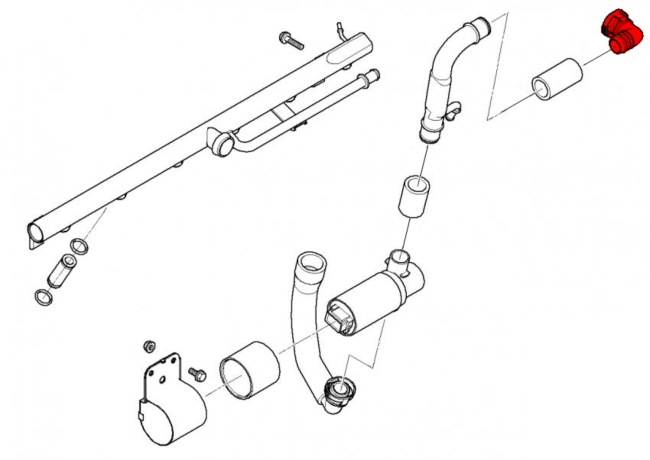 bmw 3-series e46  1999-2006  - intake system