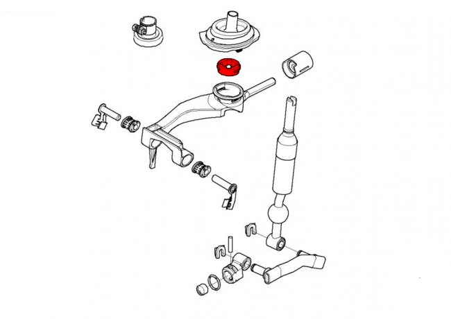bmw 3-series e30  1983-1991  - shift linkage