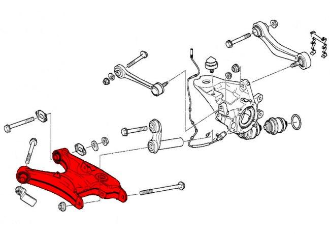 540i rear suspension diagram 98 civic rear suspension diagram