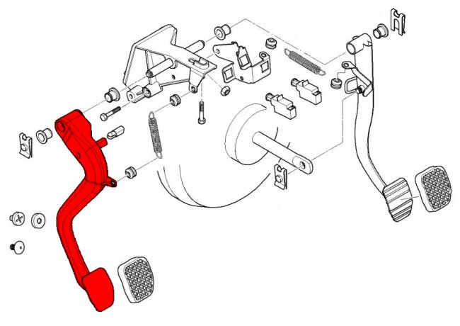 Bmw 3 Series E46 1999 2006 Pedal System Page 2