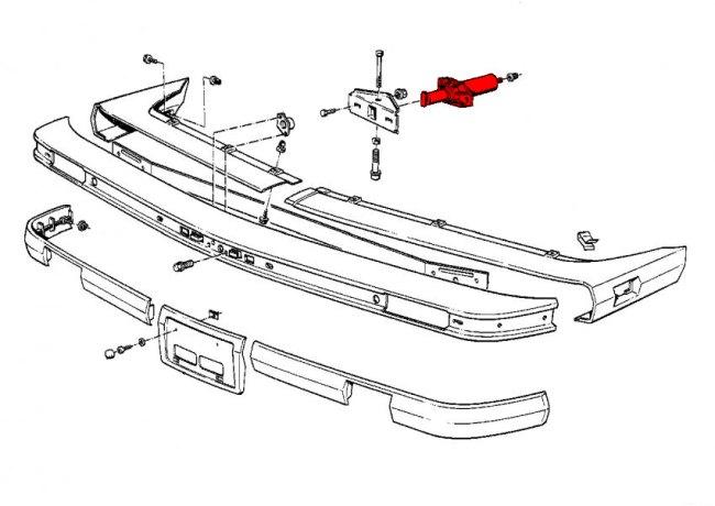 mercedes benz front bumper part diagrams  mercedes  free