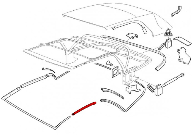 557599 Bmw E46 Convertible Top Parts on 2000 Bmw 323i Parts Diagram