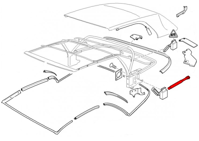 bmw 3-series e46  1999-2006  - convertible parts