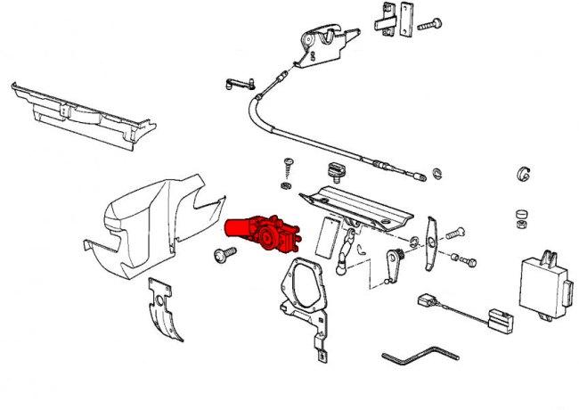 bmw 3-series e30  1983-1991  - convertible parts