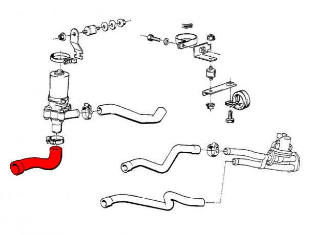 bmw 3-series e30  1983-1991  - heater system