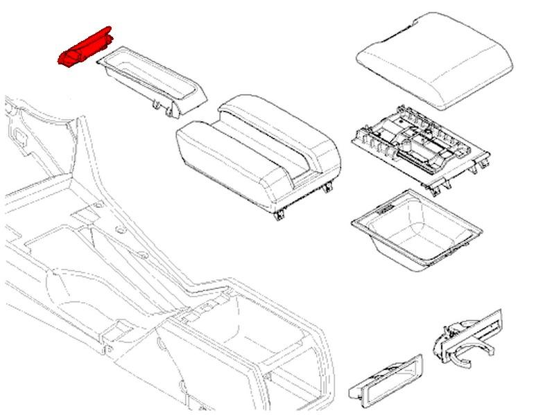 bmw 5-series e39  1996-2003  - interior trim