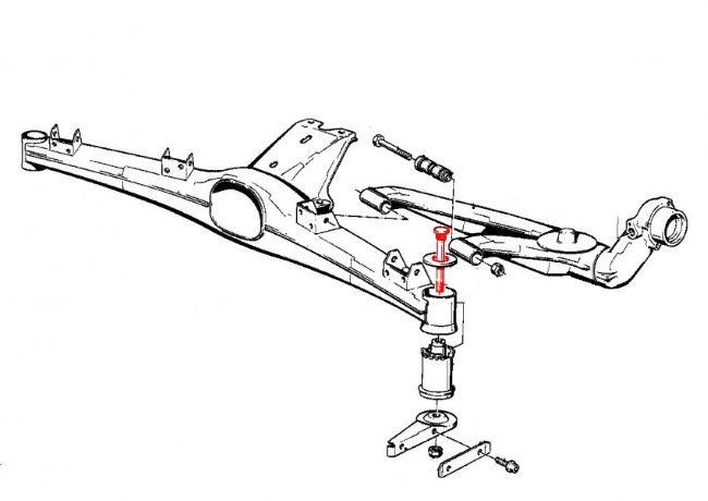 bmw 325is rear suspension diagram