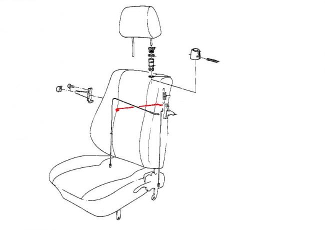 72 volkswagen seat belts