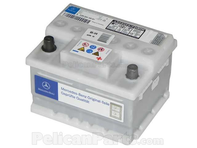 starter battery for 2007 mercedes s550