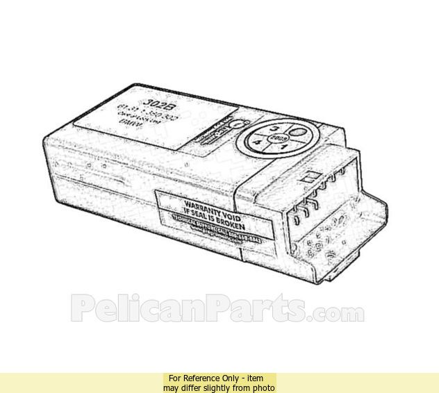 bmw 7 series e32 1987 1994 switches motors relays. Black Bedroom Furniture Sets. Home Design Ideas