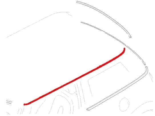 mini cooper  u0026 cooper s  r50  r52  r53  - exterior trim