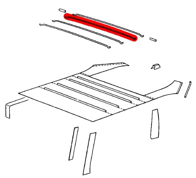 porsche oem parts diagrams sunroof