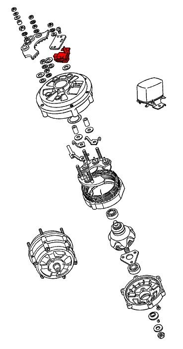porsche 911  1974-1989  - charging system  u0026 battery