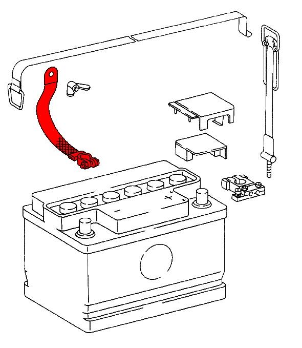 porsche 912  1965-1969  - charging system  u0026 battery