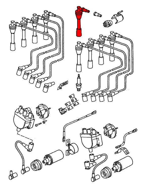 porsche 928  1978-1995  - ignition