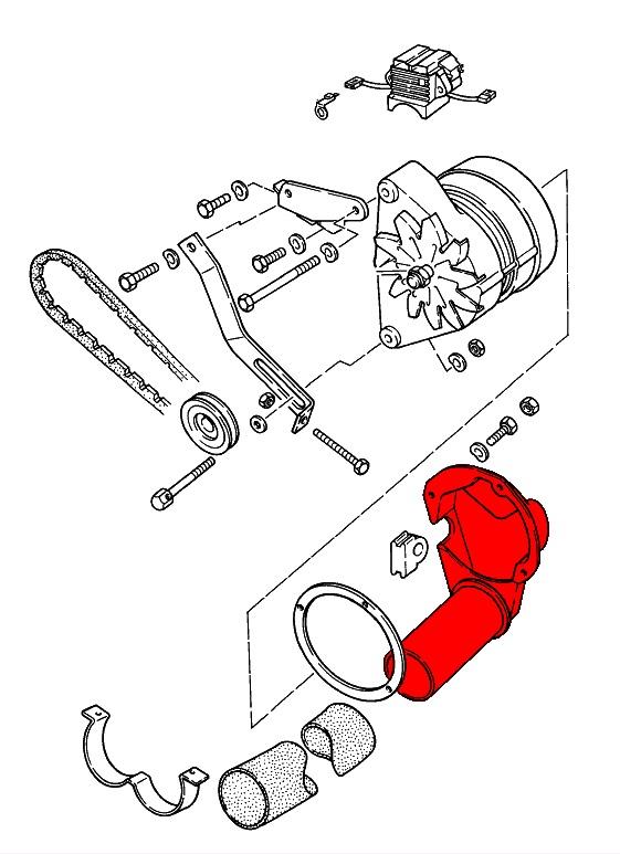 porsche 928  1978-1995  - charging system  u0026 battery