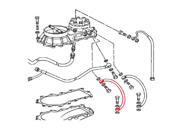 porsche 911  1974-1989  - fuel system