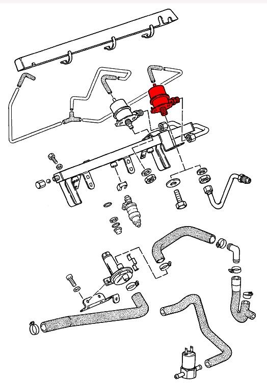 porsche 924  944  u0026 968  1976-1995  - fuel system