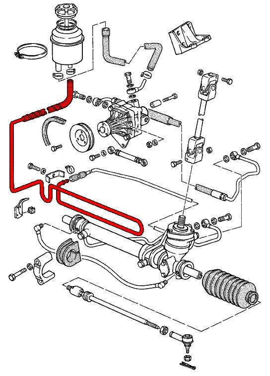 porsche 924  944  u0026 968  1976-1995  - steering system