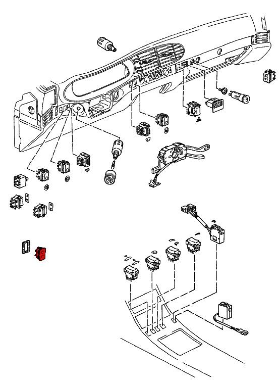 porsche 924  944  u0026 968  1976-1995  - switches  motors  relays  fuses  u0026 wiring
