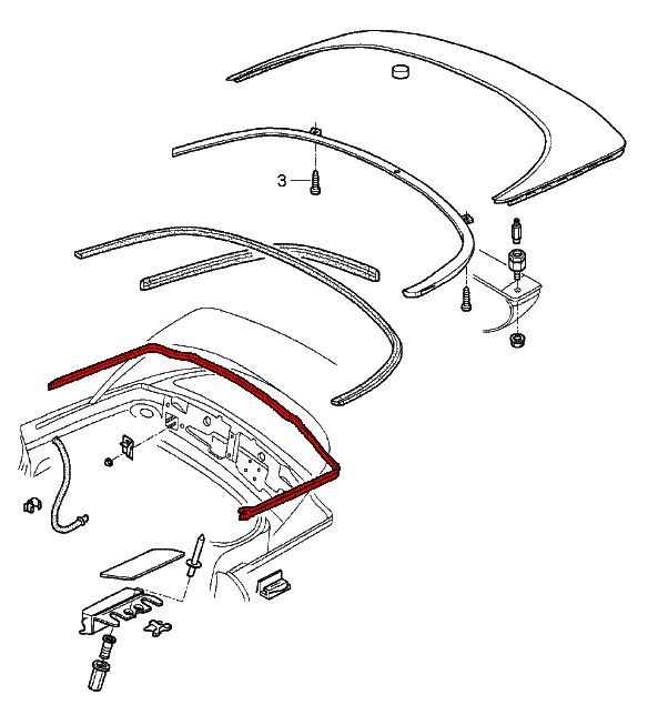 porsche boxster wiper parts diagram printable wiring