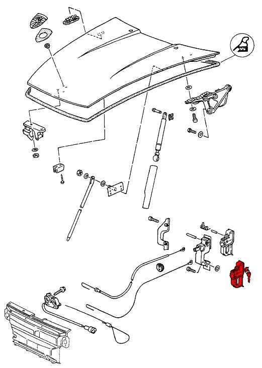 porsche 911  1974-1989  - cables  u0026 controls