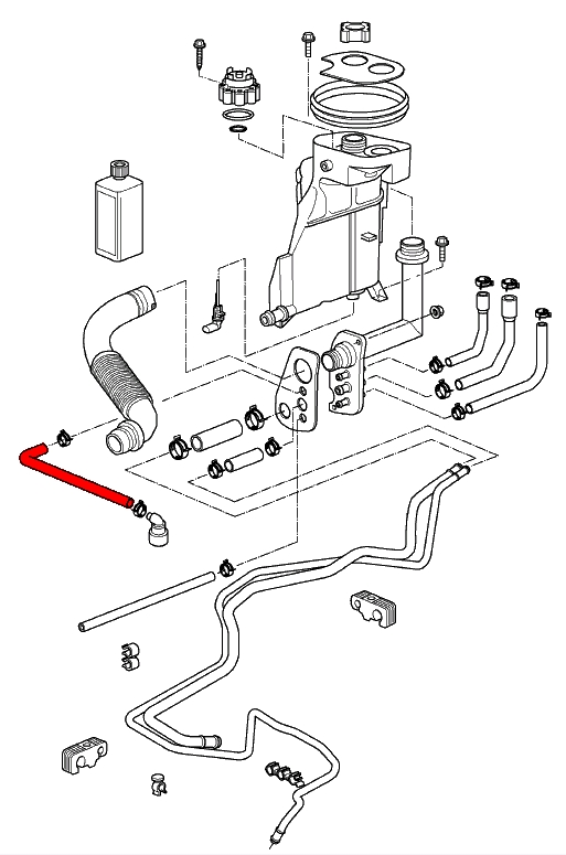 porsche 996 engine diagram water pump  porsche  auto