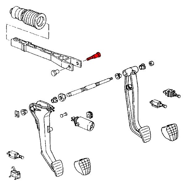 brake booster vacuum hose 99635557743