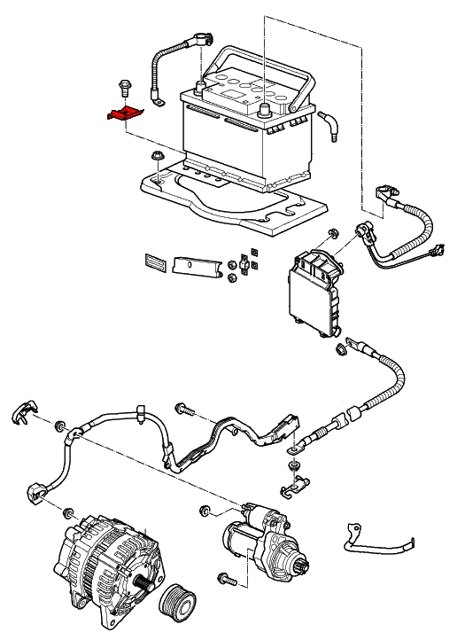 Miata Engine Plastic Skirt Diagram