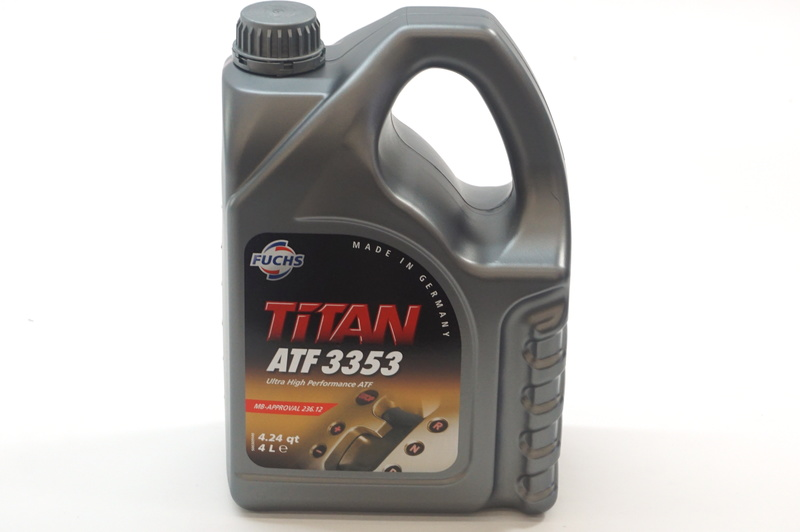 Hydraulic fluid for suspension 001989200312 fuchs titan for Mercedes benz hydraulic fluid