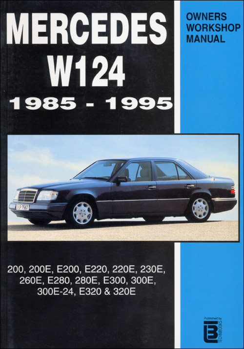 mercedes benz e class 1987 1995 w124 books technical