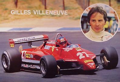 Auto Racing Cart on Posters Alfa Romeo Ferrari Racing Posters Ferrari F1 Villeneuve 81