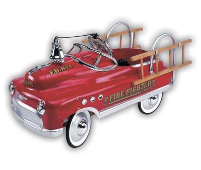 Acura Austin on Drivewerks Com   Fire Fighter Comet Pedal Car