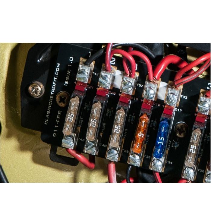 classic retrofit 911 fuse panel upgrade pelicanparts