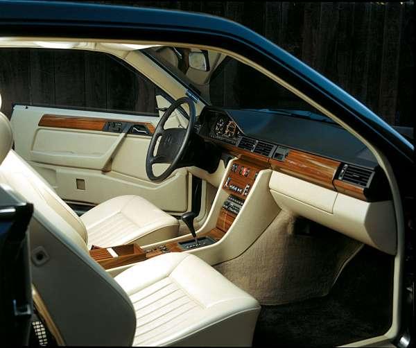 Mercedes Benz E Class 1987 1995 W124 Interior